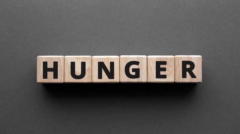 faim vs affamé